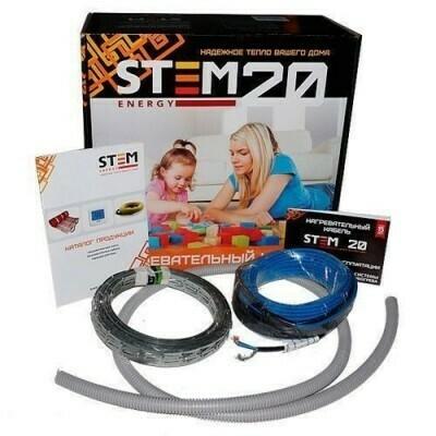 "Греющий кабель (7,5м²) 600/20 ""StemEnergy"" ""СУПЕР ЦЕНА"""
