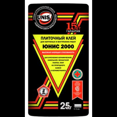 """ЮНИС """"2000"""" Клей для плитки (25кг)"""