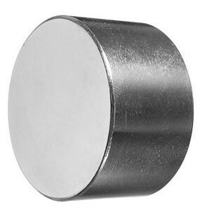 Магнит Неодимовый диск 45*20мм, 237гр, 76кг.