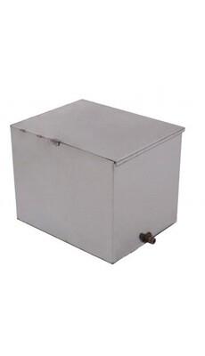 """Бак для """"Горизонталки"""" (500мм*300мм*500мм) (75л.), нержавеющая сталь"""