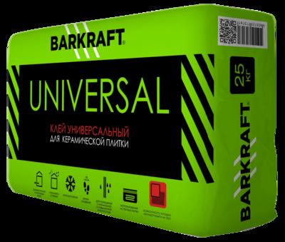 """BARKRAFT """"Универсал"""" Клей для керамической плитки (25кг) (56меш)"""