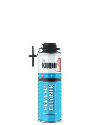 Очиститель монтажной пены KUDO HOME FOAM&GUN CLEANER