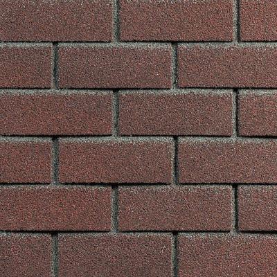 Плитка фасадная HAUBERK обоженный кирпич 1м2 (в упак. 2м2)