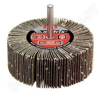 Круг для дрели Р80 лепестковый радиальный