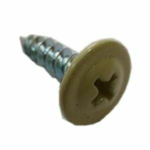 Саморез с прессшайбой острый 4,2мм*32мм (RAL-1014 Слоновая кость)