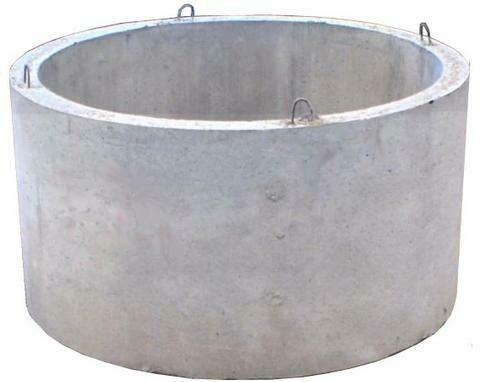 Кольцо стеновое колодца (внутренний диаметр-0,7м, высота-0,29м)