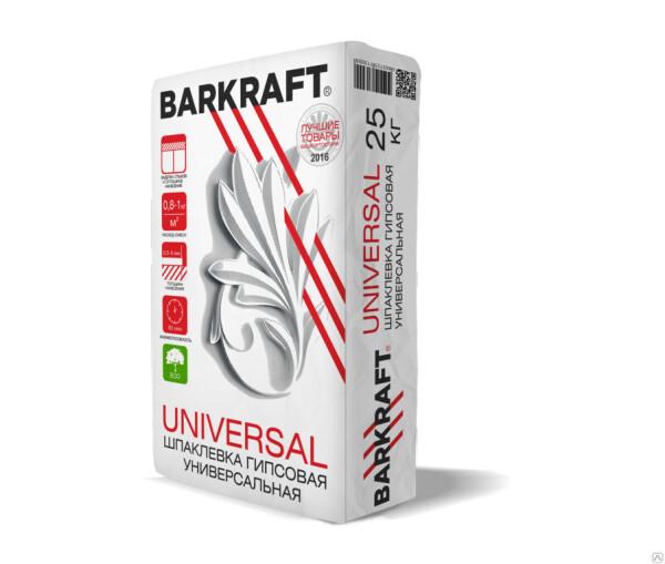 """BARKRAFT """"UNIVERSAL"""" Шпаклевка гипсовая Универсальная (25кг) (56меш)"""