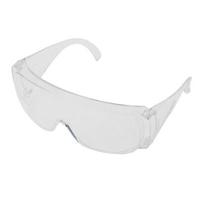 Очки защитные открытого типа, прозрачные,