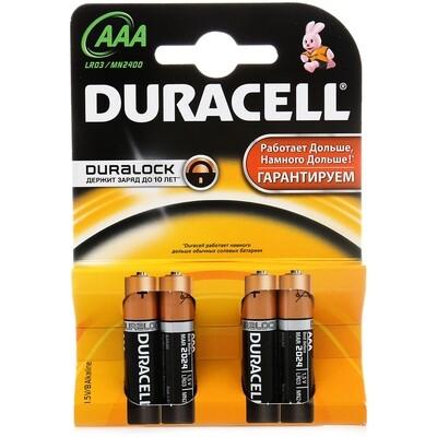 Батарейка Duraccel Basic LR3 1,5V