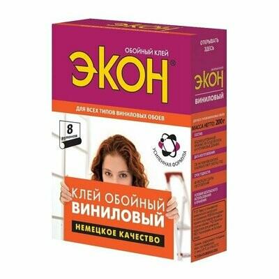 Клей обойный флизелиновый ЭКОН (200г)