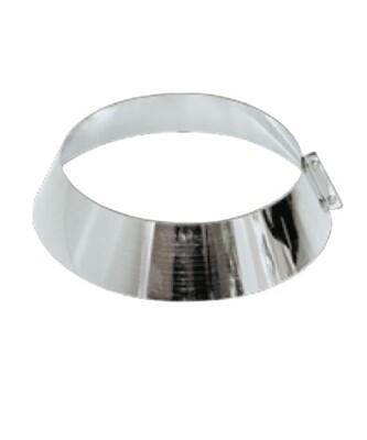 Юбка 320мм*200мм*70мм, 0,5мм, оцинкованная сталь