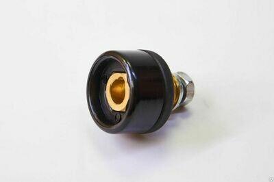 Токоразъём СКРП-25 9мм (вставка) гнездо д/каб разъёма