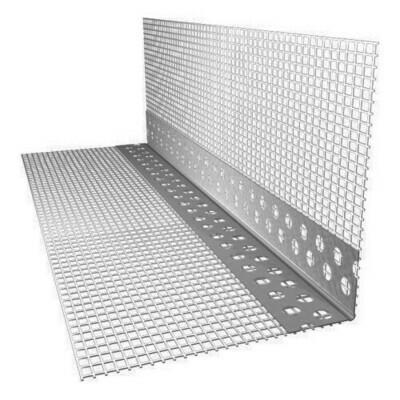 Профиль  ПВХ угловой с сеткой 10мм*15мм (2,5 метра)