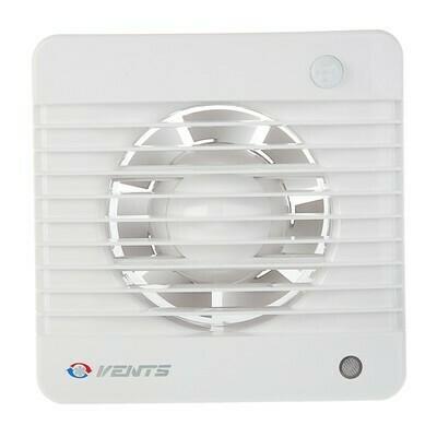 Вентилятор D=100мм, выключатель, с таймером и датчиком влажности