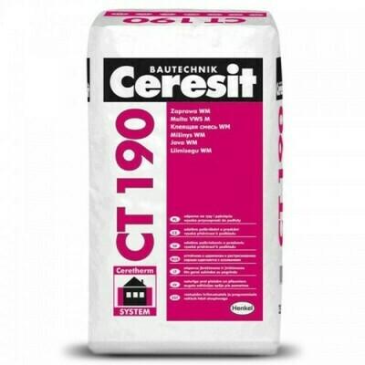 """CEREZIT """"CT 190"""" Клей для пенополистирола и минеральной ваты (25кг)"""