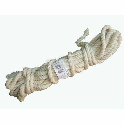 Веревка х/б 10м (8мм), плетенная