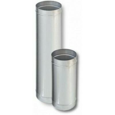 Труба оцинкованная D120мм, 0,5м, 0,50мм