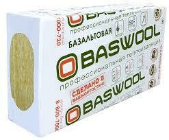 Baswool Лайт 35 1200мм*600мм* 50мм (6 плит-4,32м²/0,216м³/ упаковка)