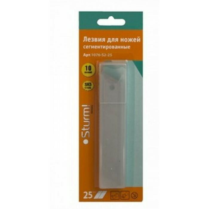 Лезвия для ножей, 25 мм, (10шт) Сегментиров. тип