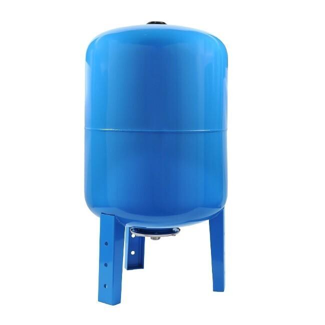 """Гидроаккумулятор вертикальный (50л.) """"UNIPUMP"""" синий"""