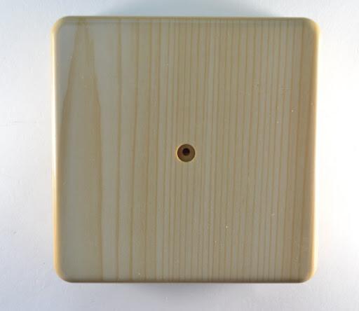 Коробка распределительная для к/к, 75мм*75мм*28мм, сосна