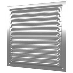 Решетка вентиляционная 100мм*100мм, стальная, оцинкованная