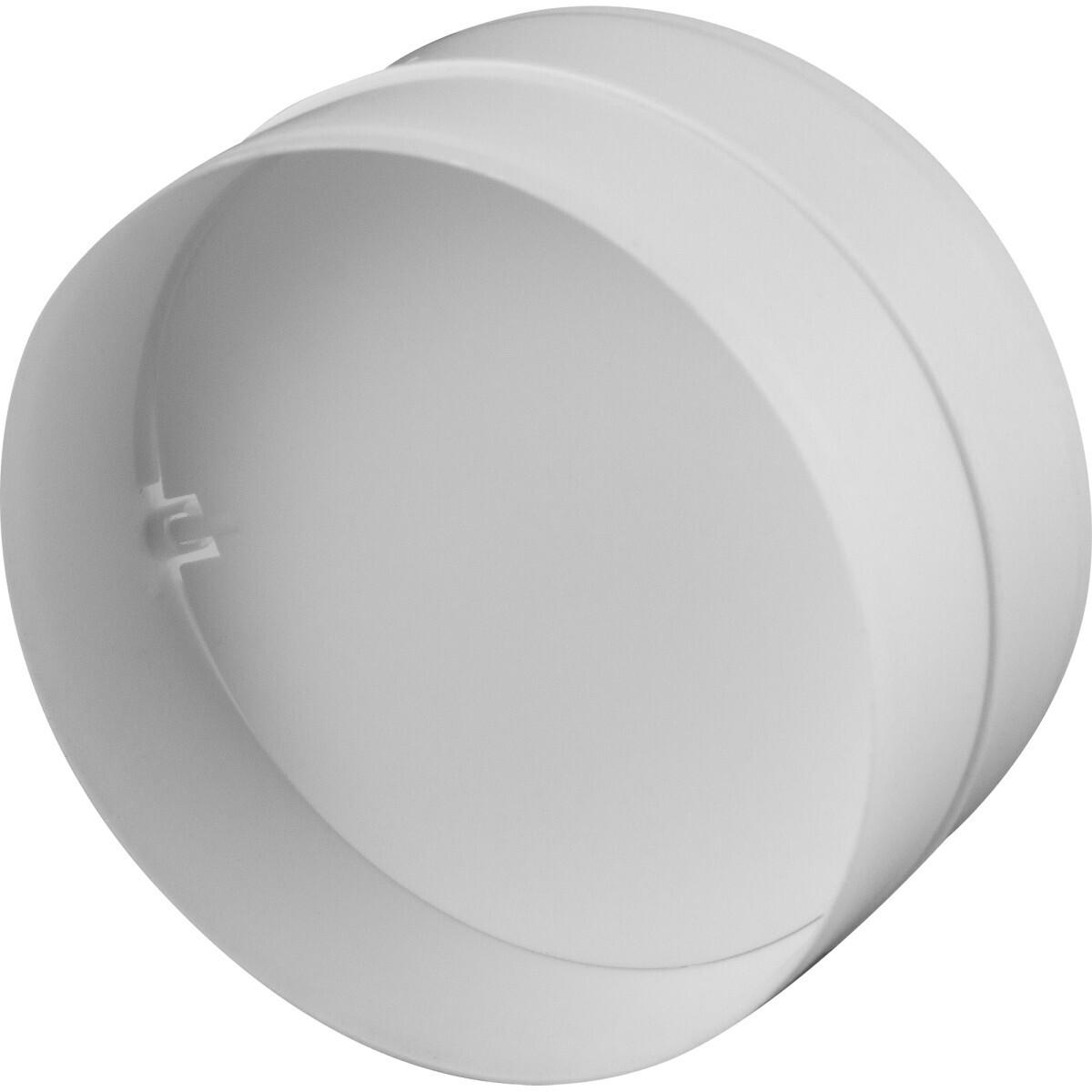 Соединитель круглых каналов с обратным клапаном D=125
