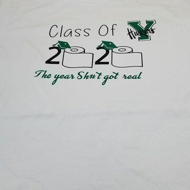 Class of 2020 Yorktown High School Quarantine Shirt