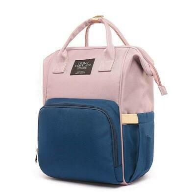Раница-Чанта за  бебешки принадлежности Elite Rose