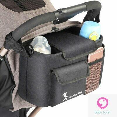 Универсален органайзер/чанта за бебешка колиaчка Black Trip