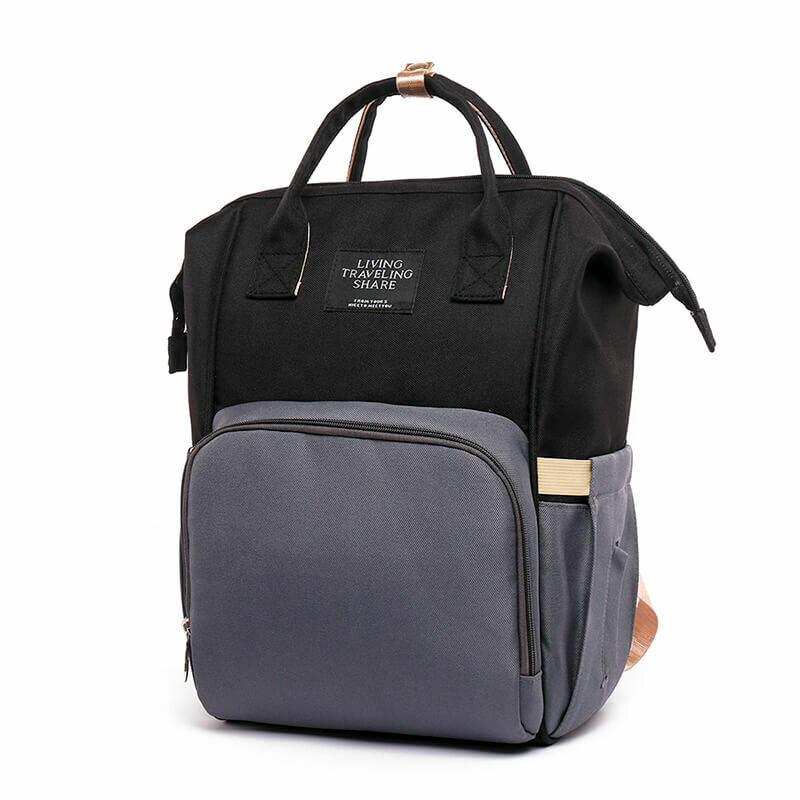 Раница-Чанта за  бебешки принадлежности Luxor Black