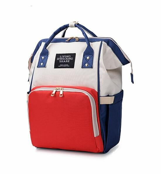 Раница-Чанта за  бебешки принадлежности Navy