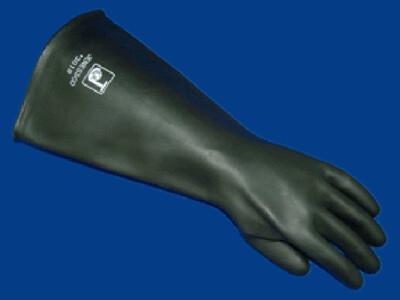 "18"" Unlined Sand Blast Glove"