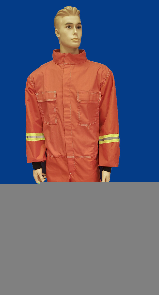 Orange High Visibility Blast Suit