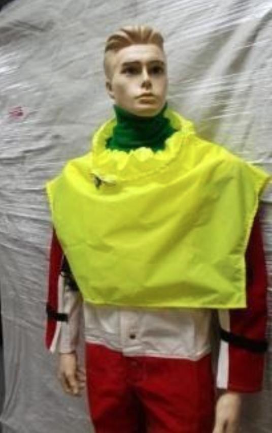 Clemco Style HV Yellow Blast Cape