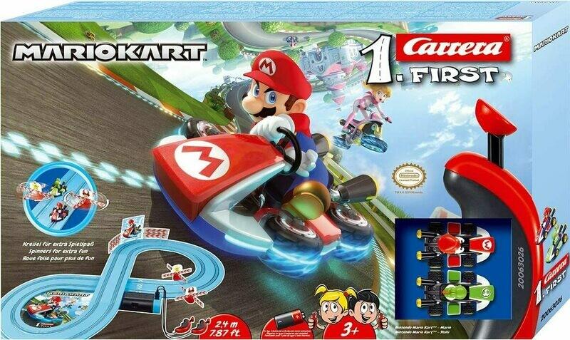 1:50 Carrera Mario Brothers Slot Car Set
