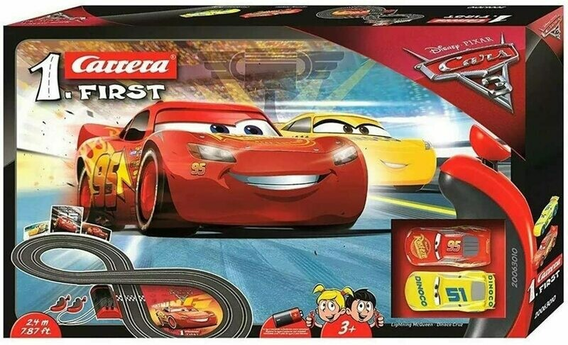 1:32 Carrera Evolution Disney/Pixar CARS 3 Race Day Slot Car Track Set