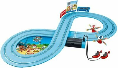 1:50 Carrera First Paw Patro Slot Car Set