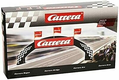 Carrera Deco Bridge for 1:24 / 1:32 Slot Car Tracks