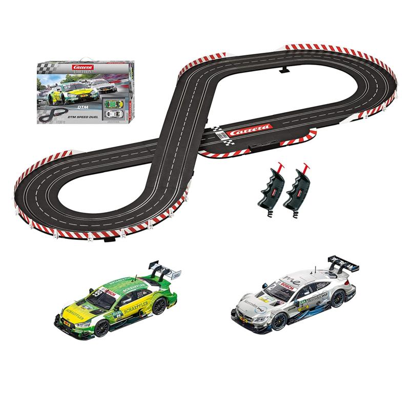1:32 Carrera EVO DTM Speed Duel Slot Car Set