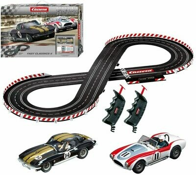 1:32 Carrera Evolution Fast Classics II Slot Car Set