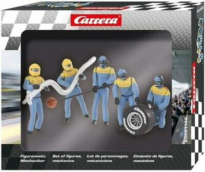 Carrera 1:24 / 1:32 Pit Mechanics (Blue)