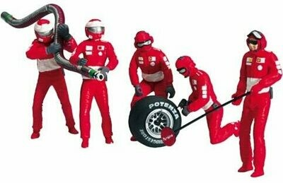 Carrera 1:24 / 1:32 Pit Mechanics (Red)