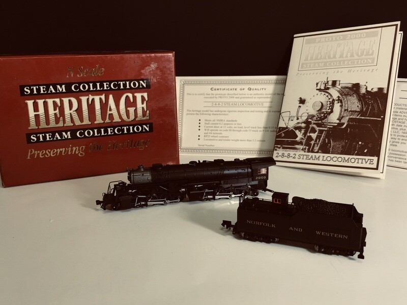 1:160 PROTO 2000 Heritage Steam Collection USRA 2-8-8-2