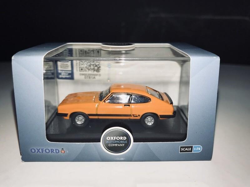 1:76 Oxford Diecast Ford Capri MK3