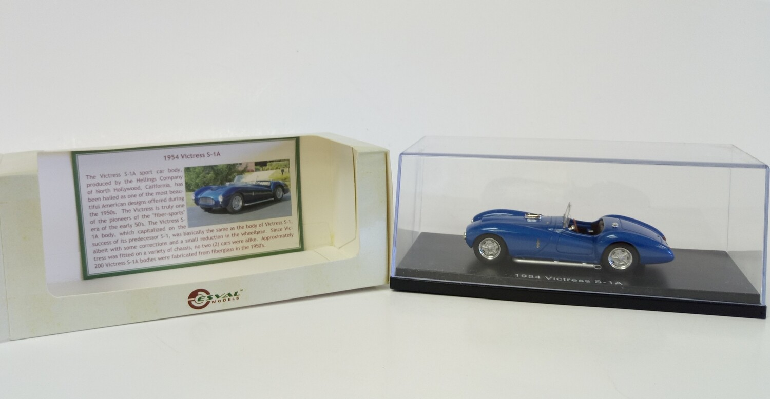 1:87 ESVAL 1953 Victress S-1A Sport Roadster