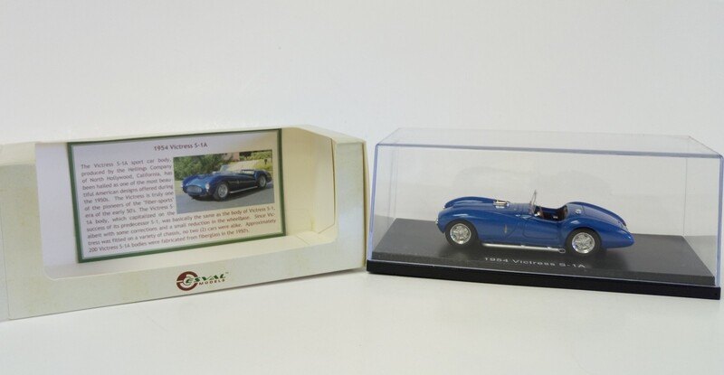 1:43 ESVAL 1953 Victress S-1A Sport Roadster