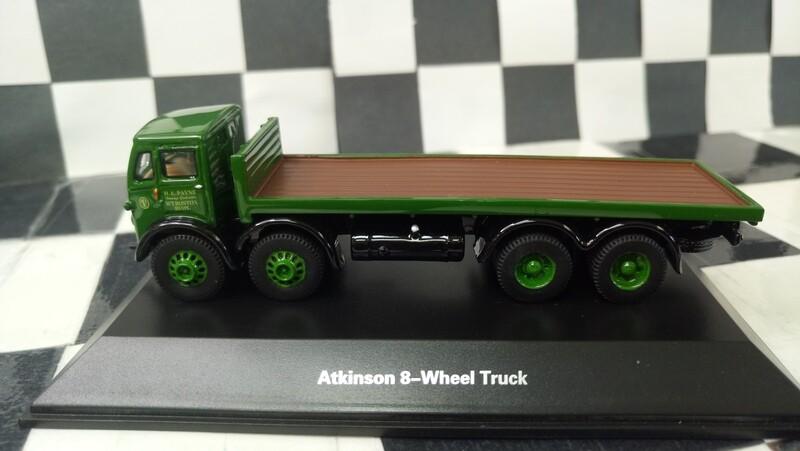 1:87 BoS Atkinson 8-Wheel Truck (Green)