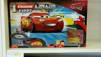 1:50 Carrera First Disney/Pixar Cars 3 - Slot Car