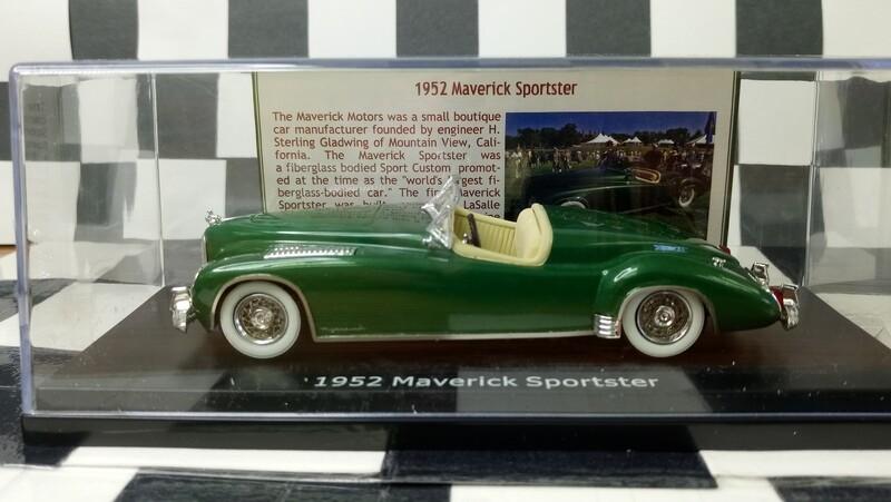 1:43 ESVAL 1952 Maverick Sportster
